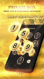 Black Golden SMS - Default SMS&Phone handler