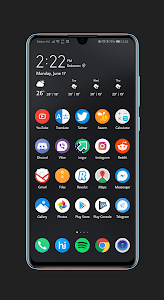 Minimal Dark EMUI 9 1 Theme for Huawei devices 2 0 (Paid) APK for