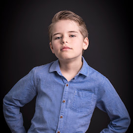 10 Year Old Attitude by Jamie Ledwith - Babies & Children Child Portraits ( childhood photography, childrensphotography, children, portrait, child, kids )