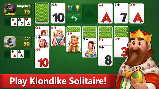 Klondike Solitaire: PvP card game with friends filehippodl screenshot 6
