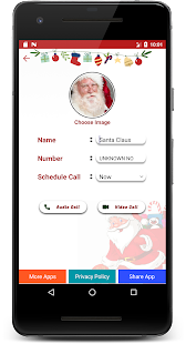 Santa Claus Calling & Chat Simulator Screenshot