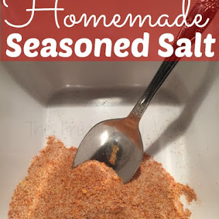 DIY Seasoned Salt.