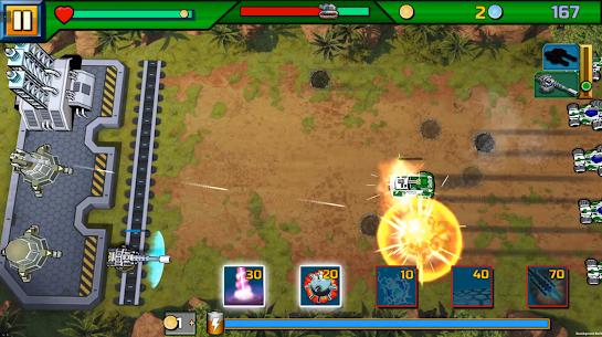 Tank ON 2 Jeep Hunter – Arcade Base Defender 1