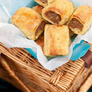 Pate Sausage Rolls.
