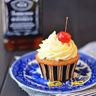 Whiskey Sour Cupcakes
