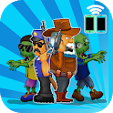 Two guys & Zombies (online game with friend) icon