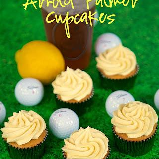 Arnold Palmer Cupcakes (Iced Tea and Lemonade)