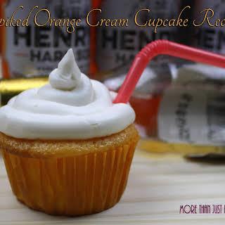 Spiked Orange Cream Cupcake.