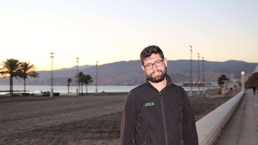 José Antonio Quintana, en Almería