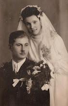 Photo: Zdjęcie ślubne Stefana Aksamita z żoną  Zdjęcie udostępnione prze P.Ewe Aksamit.