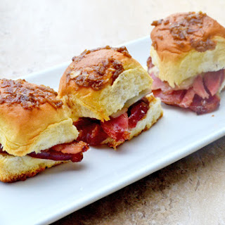 Ham and Cheese Party Sandwiches.