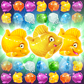 Mermaid - treasure match-3