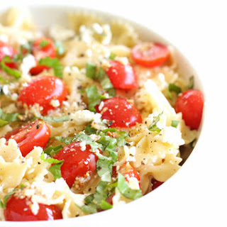 Light and Easy Pasta Salad.