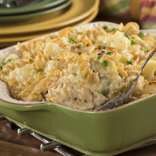 Cheesy Tuna Casserole.