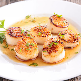 Scallops With Fresh Herbs