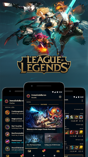 League Friends 1.5.1 screenshots 1