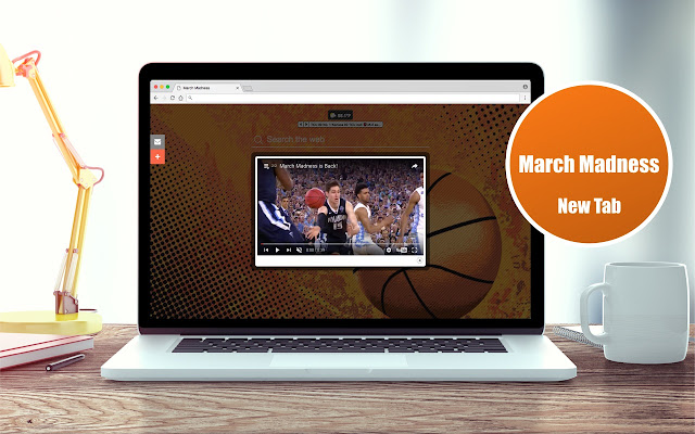 *NEW* March Madness Wallpapers Theme New Tab
