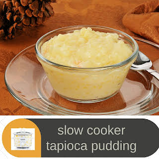 CrockPot Tapioca Pudding.
