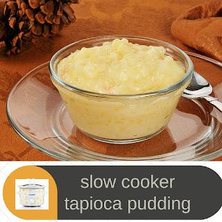 CrockPot Tapioca Pudding.
