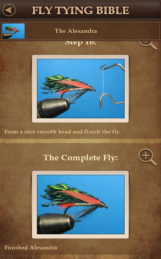 Fly tying bible trout fishing android apps on google play for Fishing in the bible