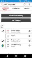 Screenshot of Vodafone Meet Anywhere
