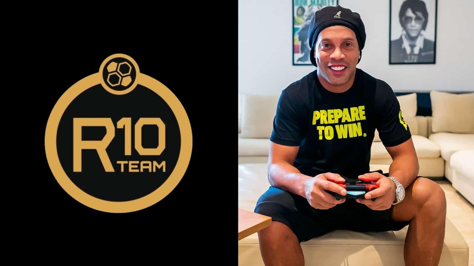 "Ronaldinho created the ""R10 Team"" franchise back in 2019"