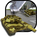 Cargo Jet Army Tank Transport icon
