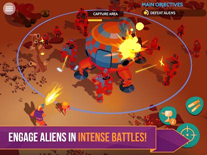 Space Pioneer – Shoot, build & rule the galaxy- screenshot thumbnail