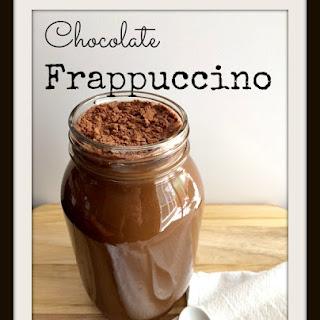 Chocolate Frappuccino.
