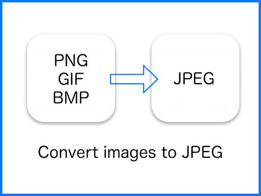 JPEG Converter-PNG/GIF to JPEG 2.5.1 screenshots 1