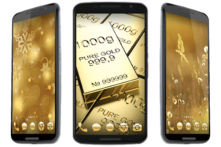 Golden Theme screenshot 3