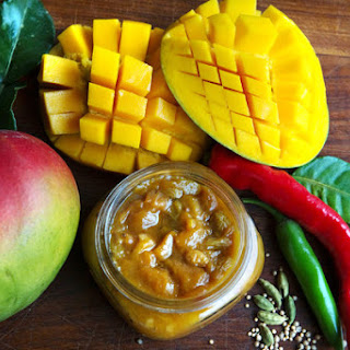 Spiced Mango Chutney With Chiles
