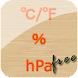 温湿気圧計(温度、湿度、気圧計) Free