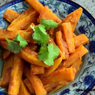Sweet Potato Masala Fries