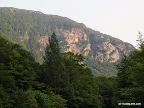 Photo: Scenic shot at Smugglers Notch State Park by Norm & Sharon Rabtoy