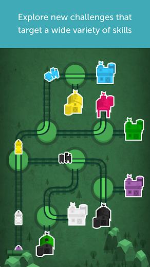 Screenshot 2 for Lumosity's Android app'