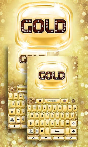 Luxury Gold GO Keyboard Theme