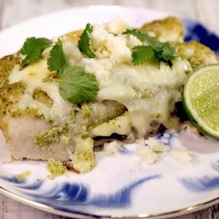 Green Chicken Enchiladas.