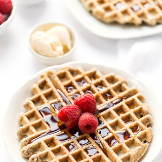 Wholesome Almond Flour Waffles.