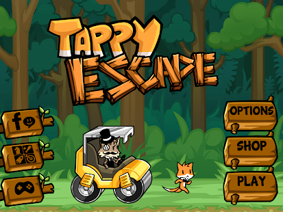 Tappy Escape - The Running Fox - screenshot thumbnail