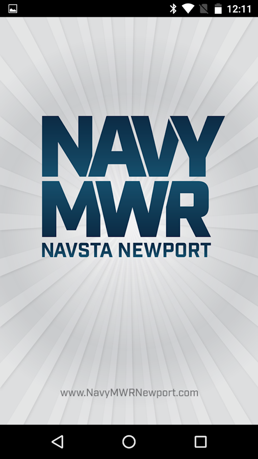 NavyMWR Newport- screenshot