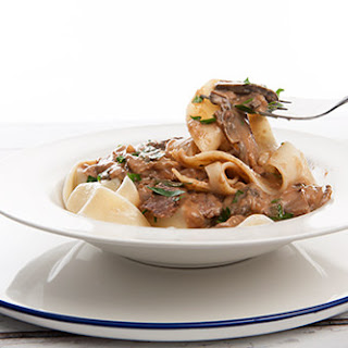 All Day – Slow Cooked Beef Stroganoff.