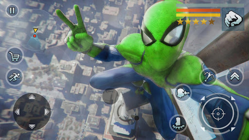 Spider Rope Hero - Vegas Crime city screenshots 4