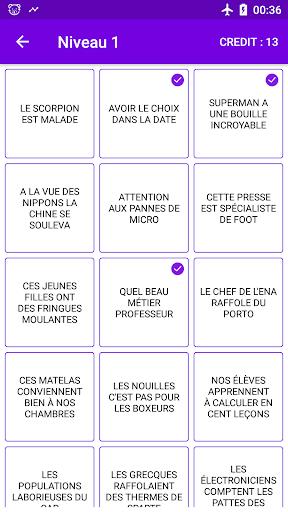 Contrepèterie Quizz 1.20.1 screenshots 2