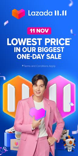 lazada - 11.11 biggest one-day sale screenshot 1