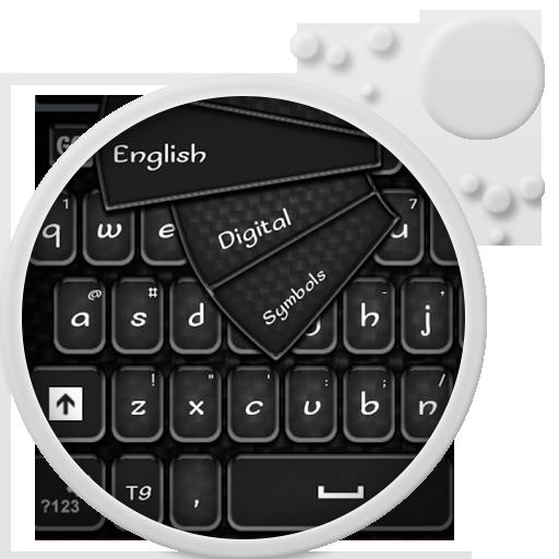 GO键盘商务黑 個人化 App LOGO-APP試玩