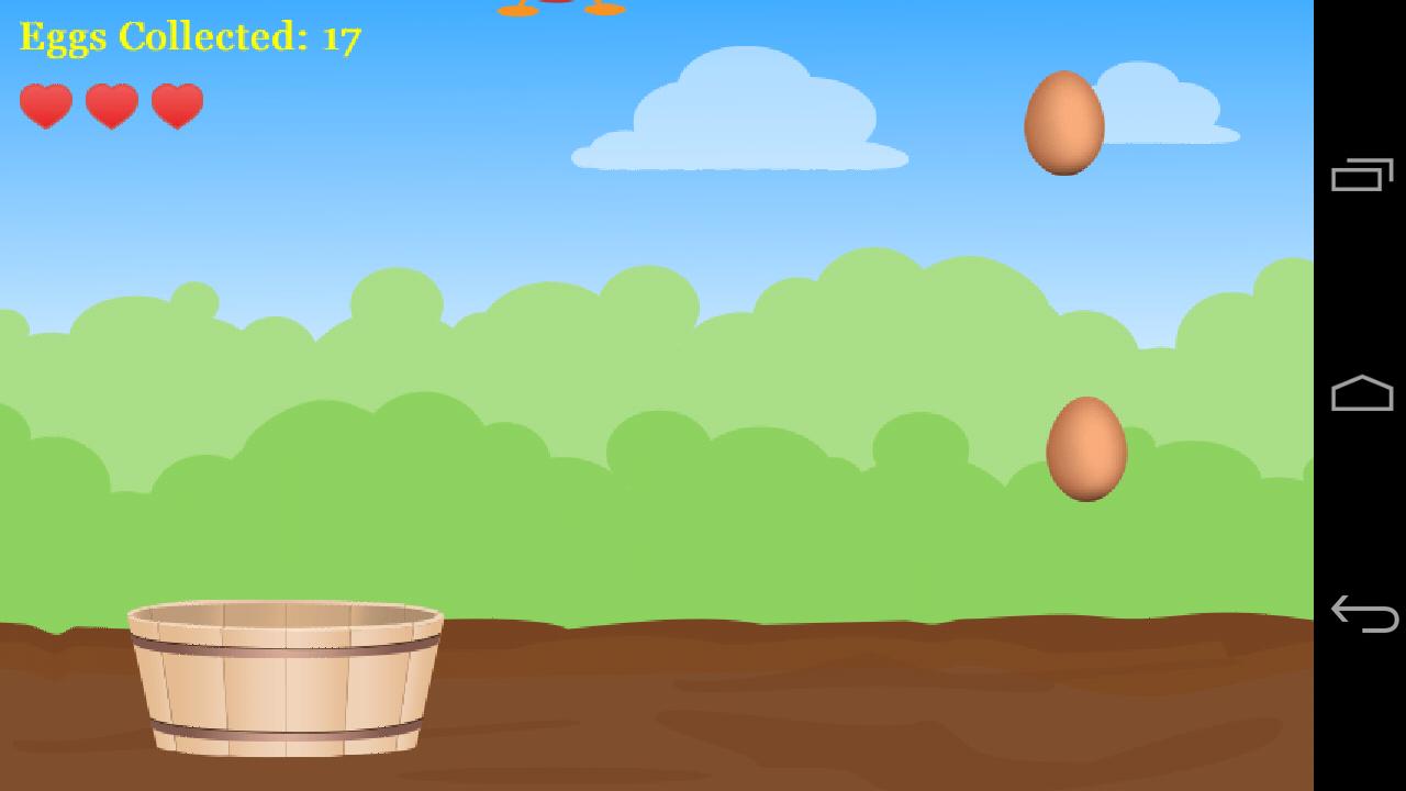 Catch The Egg - στιγμιότυπο οθόνης