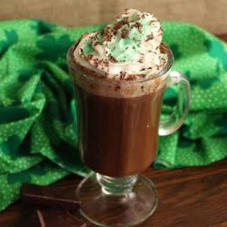 Chocolate Irish Coffee.