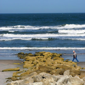 Img-0047 by David Conover - Novices Only Landscapes ( waterscape, person, walking, beach, landscape,  )