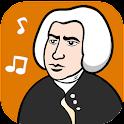 Johann Sebastian Bach Music icon